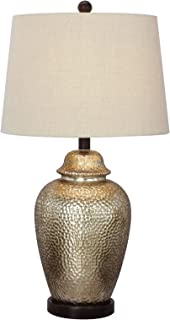 Fangio Lighting W-5123 Metal Table Lamp, 27.5