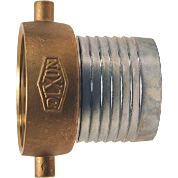 King Short Shank Suction Coupling with Brass Nut 1-1//2 NPSM Female x 1-1//2 Hose ID Barbed 1-1//2 NPSM Female x 1-1//2 Hose ID Barbed Dixon Valve /& Coupling Dixon Valve FCSB150 Steel Shank//Water Fitting