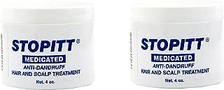 Set of 2 Stopitt 4 oz. Medicated Anti – Dandruff Hair and Scalp Treatment bundled by Maven Gifts