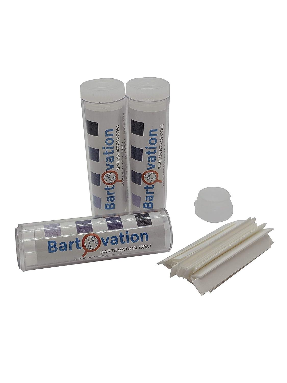 Three Pack Restaurant Sanitizer Chlorine Test Paper, 10-200 ppm