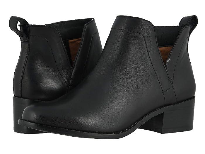 VIONIC  Clara (Black Leather) Womens Shoes