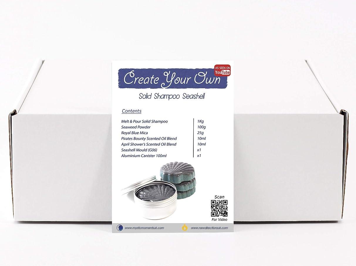 交響曲迷信ジャーナルMystic Moments | Create Your Own – Solid Shampoo Seashell