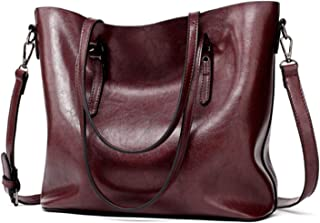 Women Leather Handbags Lady Large Tote Bag Female Pu Shoulder Bags A Main Brown Black Red