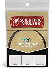 Scientific Anglers Knot 2 Kinky Titanium Wire Leader - ONE COLOR 15FT 35LB