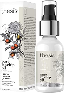 Sponsored Ad - Thesis Organic Rosehip Oil - Pure Cold Pressed Raw Unrefined - for All Skin Types