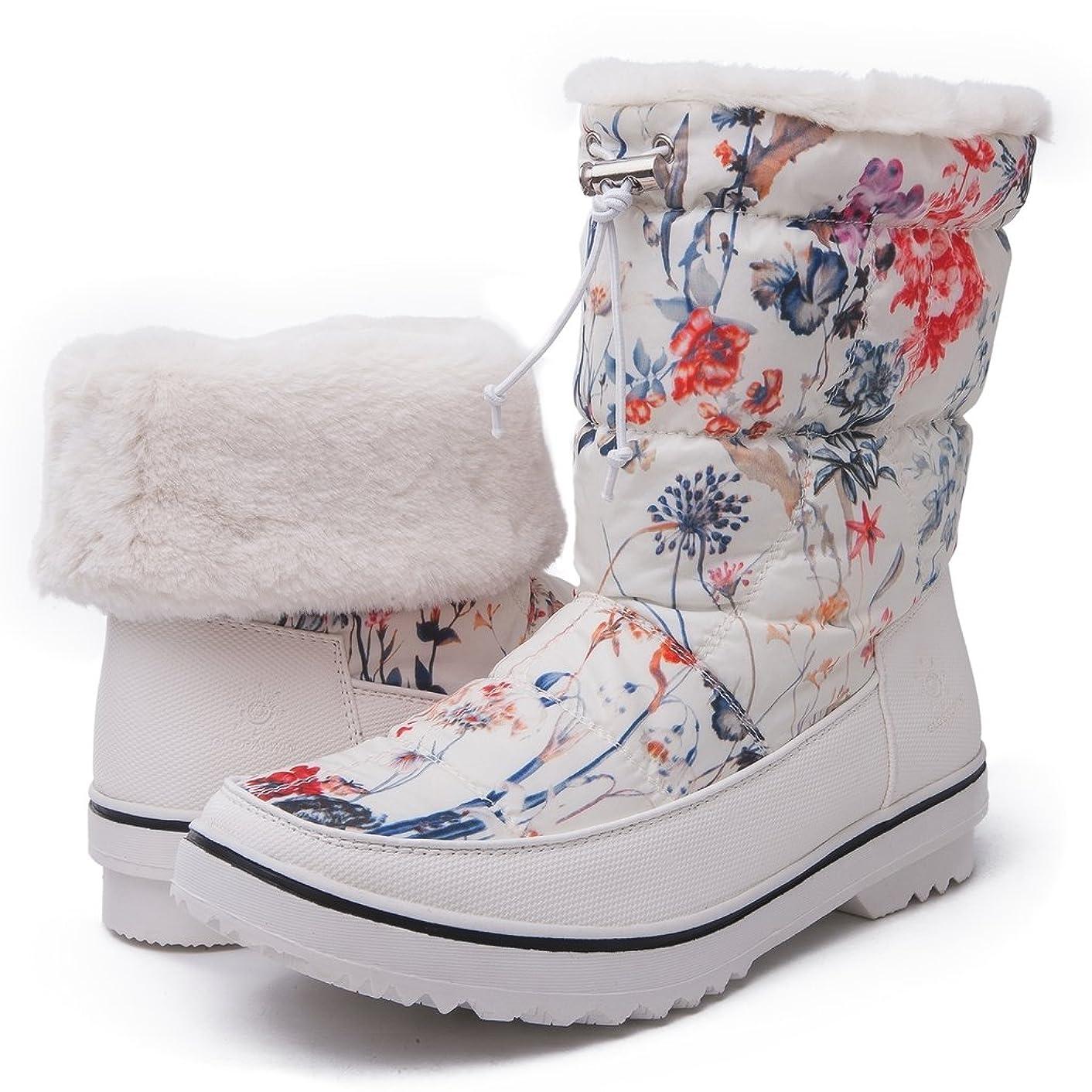 GLOBALWIN's Women's Adeline Winter Snow Boots