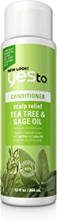 Best Yes To Naturals Tea Tree & Sage Oil Scalp Relief Conditioner for Dry & Itchy Scalp, White , 12 Fluid Ounce Review