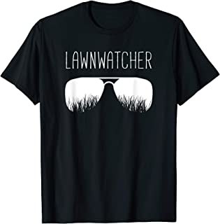 Funny Lawn Mowing Dad T-Shirt Father Yard Care Gardener