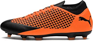 PUMA FUTURE 2.4 FG/AG Erkek Krampon Puma Black-Shocking Orange 42.5