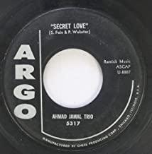 ahmad jamal trio 45 RPM secret love / taking a chance on love