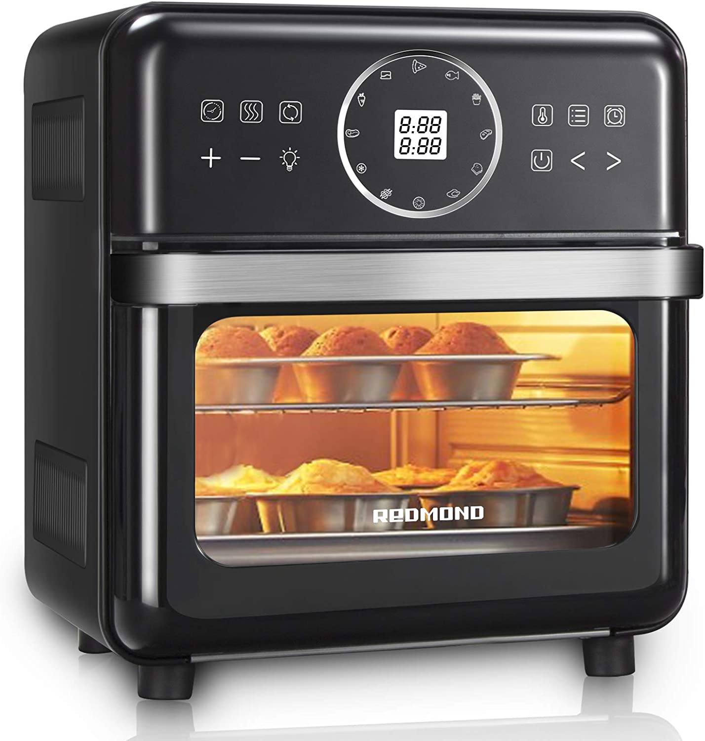 REDMOND Air Fryer Ranking TOP11 14.8QT Ranking TOP9 Electric 12-in-1 Oven 1700W