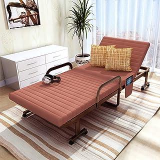 Office Life Lit d'invité pliant pliant Lit pliant Canapé-lit Lit de sieste de bureau pour intérieur Bureau extérieur Balco...