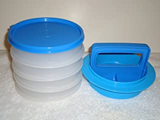 Tupperware Hamburger Press Set