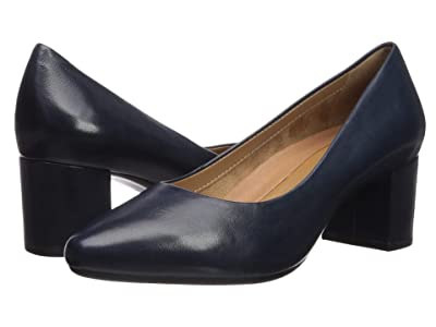 Aerosoles Silver Star (Navy Leather) Women