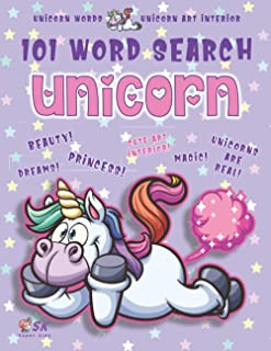 Unicorn Word Search Book for Girls Ages 4-8: 101 Puzzle Pages. Custom Art Interior. Cute fun gift! SUPER KIDZ. Farting Sta...