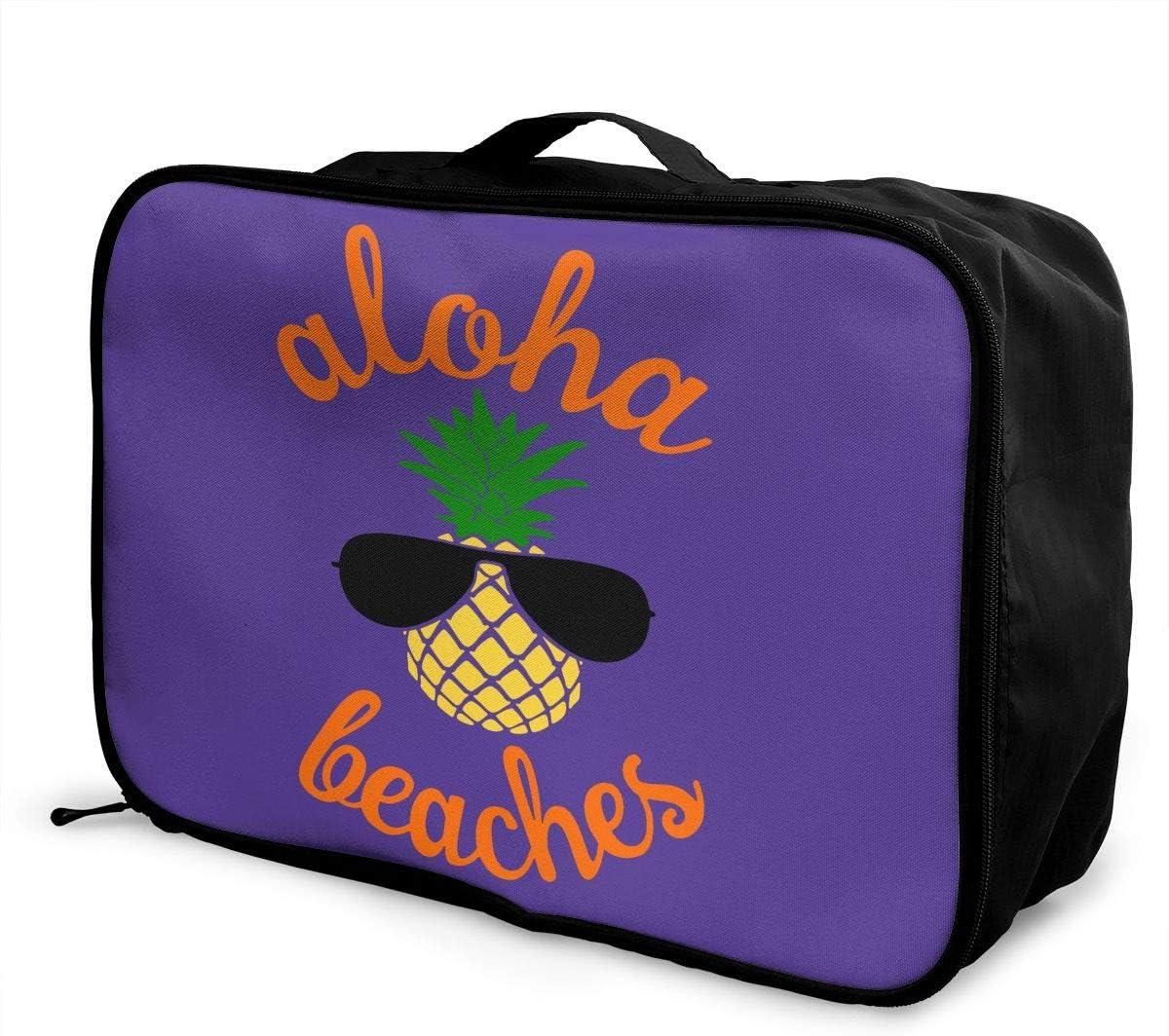 Aloha Sale special price Beaches Pineapple Hawaii Seasonal Wrap Introduction Capacity Lightweight Large Carry