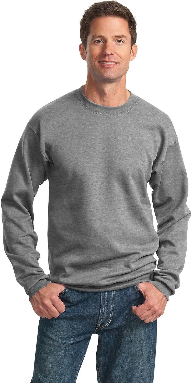 Port & Company Tall Ultimate Crewneck Sweatshirt-4XLT (Athletic Heather)