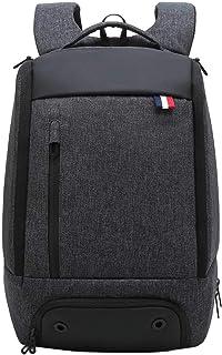 Neuleben Rucksack mit Schuhfach 15.6 Zoll Laptopfach Anti Diebstahl Multifunktion Wasserabweisend Reiserucksack Sportrucksack Schwarz