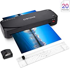 Laminator, Crenova A4 Laminator, 4 in 1 Thermal Laminator, 9 inches, 20 Laminating..
