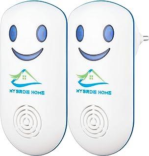 My Birdie Home Repelente a ultrasonidos de ratón y rata – Dispositivo electrónico anti roedor...