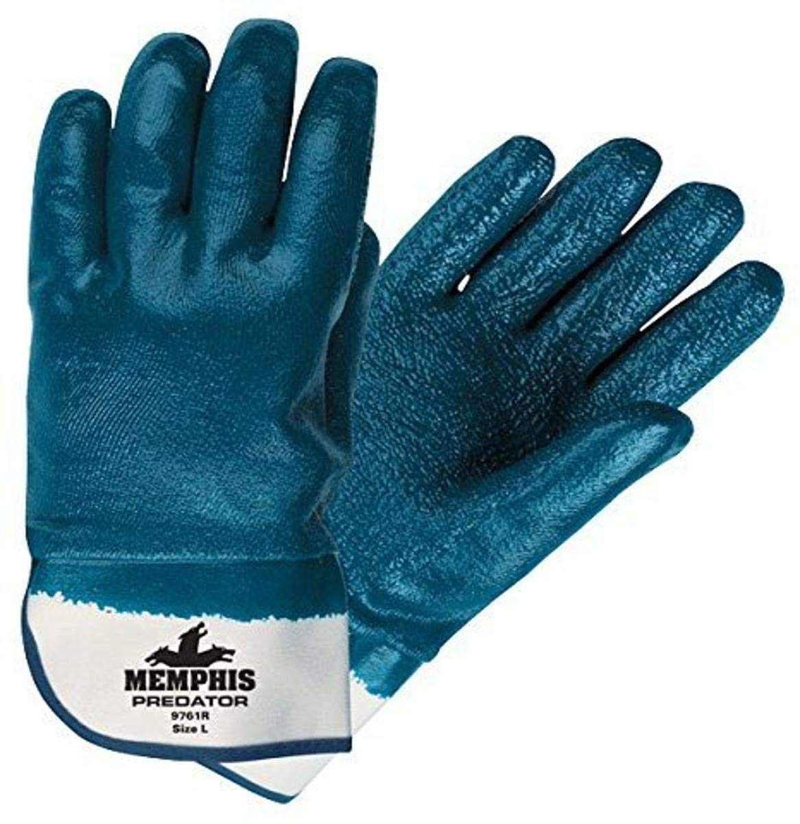 Memphis Glove 9761R Predator Nitrile Phoenix Mall Fully Popular product Coated