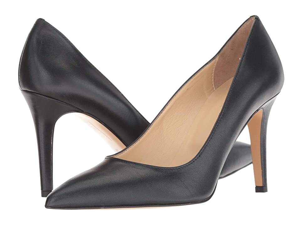 Summit by White Mountain Melissa Heel (Black Leather) High Heels