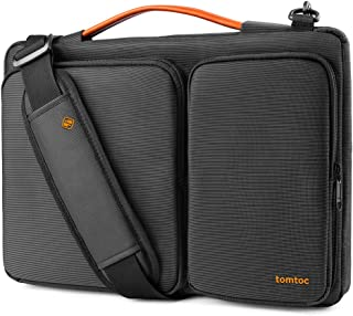 tomtoc 360 Protective Laptop Shoulder Bag for 2020 New Dell XPS 15, 15-inch MacBook Pro A1990 A1707, Surface Laptop 3 15, ...