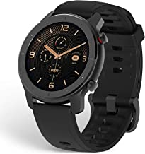 Amazfit GTR Smartwatch, Classic Design, 24/7 Heart Rate Monitor, Music Control, GPS, 10-Day Battery Life, 12-Sport Modes, ...