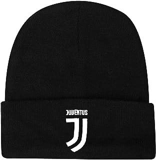 Cuffia Ufficiale Kit Tubolare Berretto Cappello in Acrilico SETJUTFA04CUFNE01 Set Juventus Juve Sciarpa