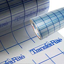 "Greenstar TransferRite 24"" by 10yd Transfer Paper w/Grid, Self Adhesive Clear Application Tape"