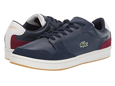 Lacoste Masters Cup 319 2 (Navy/Off-White/Dark Red) Men