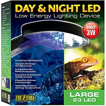 Exo Terra PT2336 Day/Night LED Fixture, Large