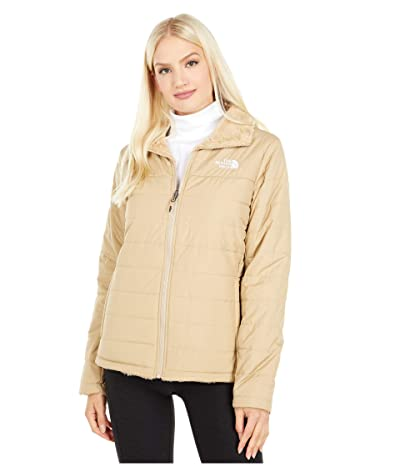 The North Face Mossbud Insulated Reversible Jacket (Hawthorne Khaki) Women