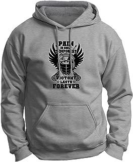 ThisWear Lacrosse Accessories Pain Only Temporary Lacrosse Premium Hoodie Sweatshirt