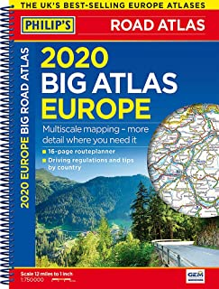 Best collins europe road map Reviews
