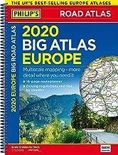 Philip's Big Road Atlas Europe: Spiral A3: (A3 Spiral binding) (Philips Road Atlas)