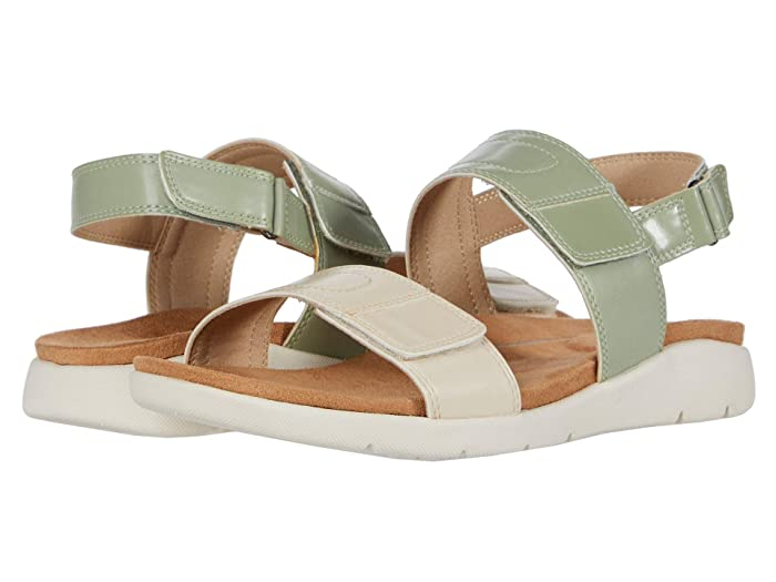 Rockport  Eileen 2 Band (Cream/Sage) Womens Shoes