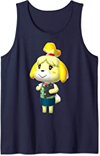 Animal Crossing Isabelle 3D Poster Tank Top