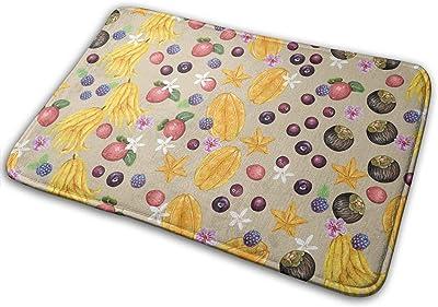 Non-Slip Doormats Mango Entrance Rug Indoor/Outdoor Carpet Absorbs Moisture Washable Dirt Trapper Mats