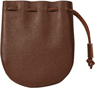 small brown pouch