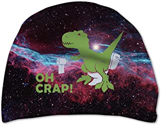 Space Cat Riding Dinosaur T-rex with Guns Dollars Men Swimwear Swim Boxer Trunks Board Surf Shorts