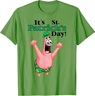 Spongebob St. Patrick's day T-shirt T-Shirt