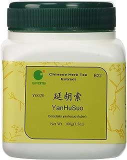 Yan Hu Suo - Corydalis Yanhusuo tuber, 100 grams,(E-Fong)