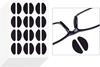 TUPARKA 120 Pairs Glasses Nose pad, Self Adhesive Foam Nose Pads,Soft Thin Nose Pads Non-Slip Eyeglass Nose Pads for Glasses Sunglasses(Black)