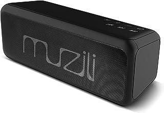 「進化版」Arbily Bluetooth ワイヤレス スピーカー, 18ヶ月品質保証, 重低音とデザイン性に優れた, デュアルドライバー マイク搭載 高音質, TFカード(microSD)スロット&USBポート&Auxポート iPhone&Android 対応