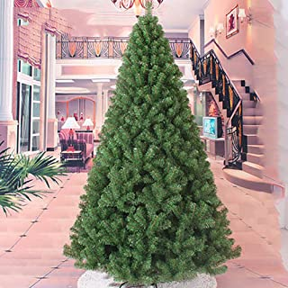 8ft 240cm Christmas Trees Unlit, Premium Artificial Lifelike Holiday Decor Xmas Tree, Indoor Outdoor-green 8ft/240cm