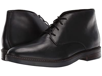 Clarks Paulson Mid (Black Leather) Men
