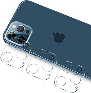 T Tersely Camera Lens Protector for iPhone 12 Pro Max 6.7 inch 2020, [3 Pack] 9H Ultra-Thin Transparent Camera Lens Protec...