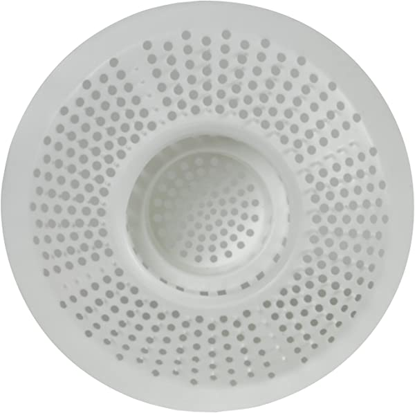Evriholder Hairstopper 1pk Plastic Drain Protector For Bathtubs Showers Pack Of 1