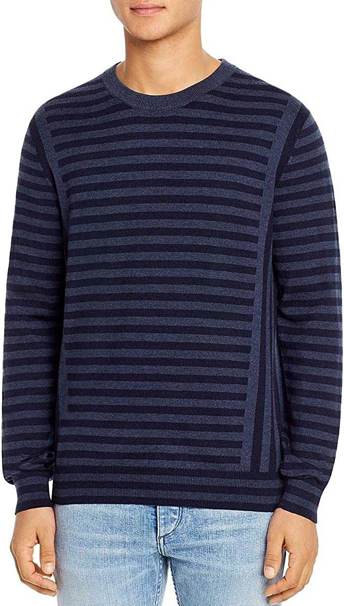 Paul Smith Mens Wool Blend Pullover Crewneck Sweater